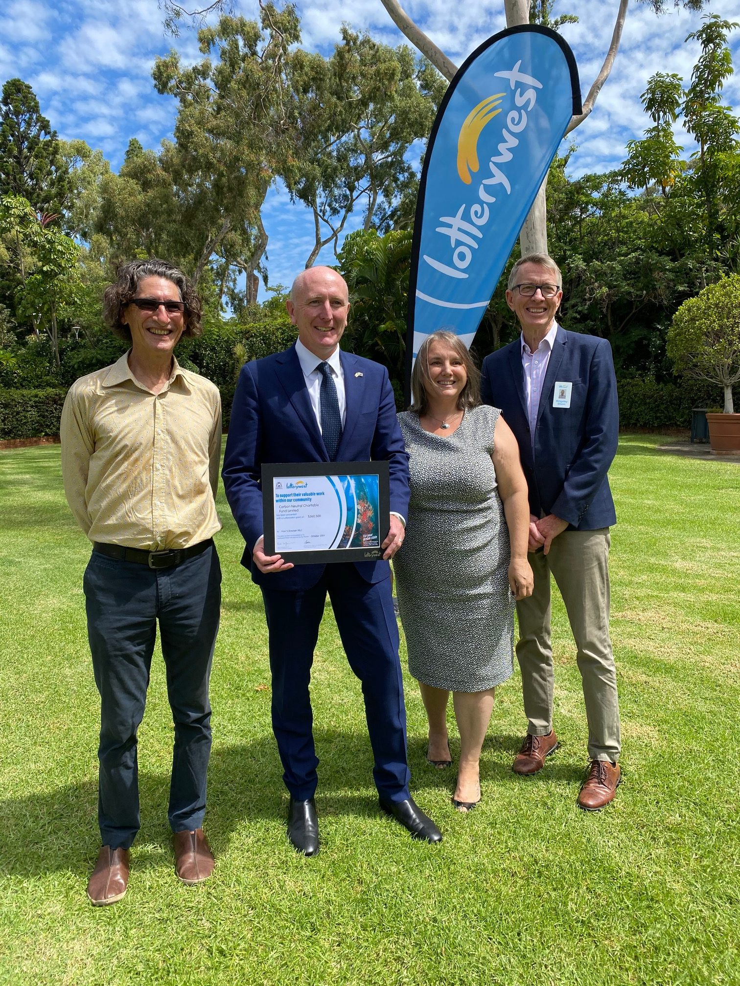 CNCF receive a Lotterywest Grant